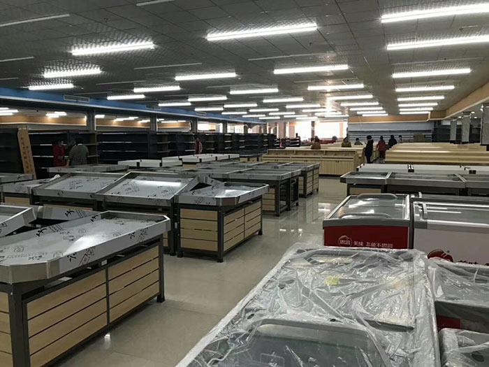 柘城县陈清集镇新天地购物广场超市货架案例