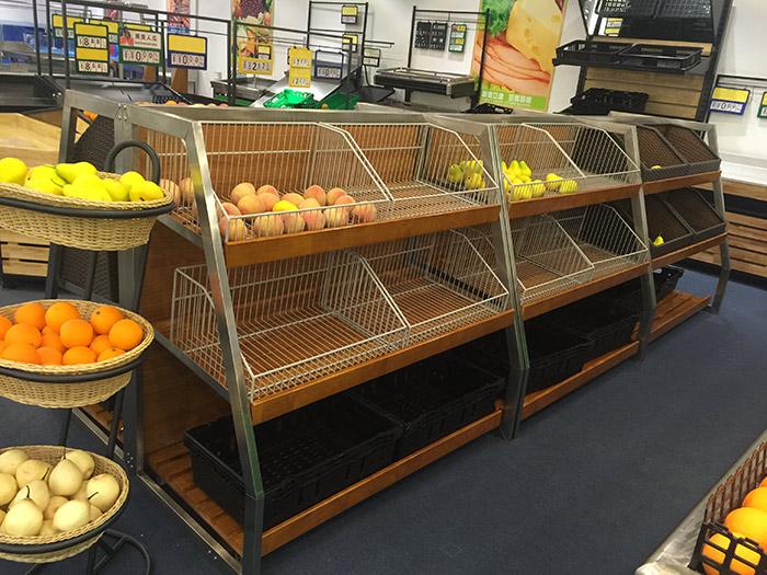 红叶蔬菜水果货架015