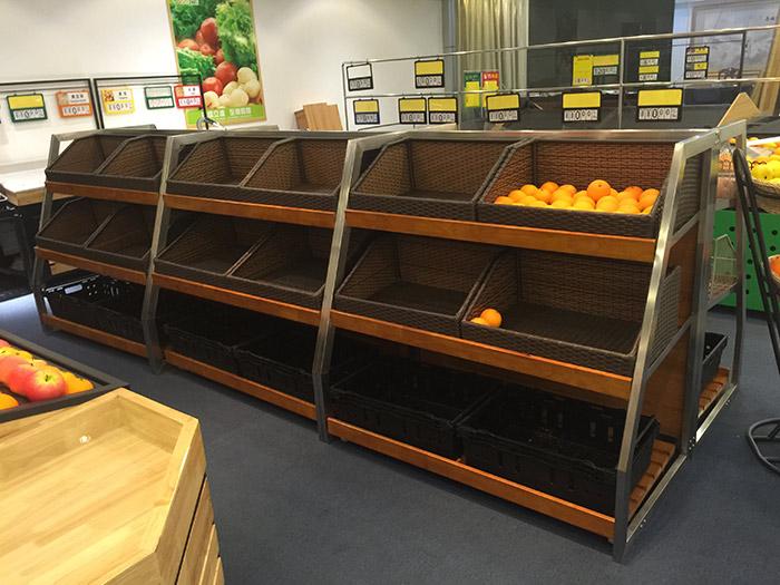 红叶蔬菜水果货架017