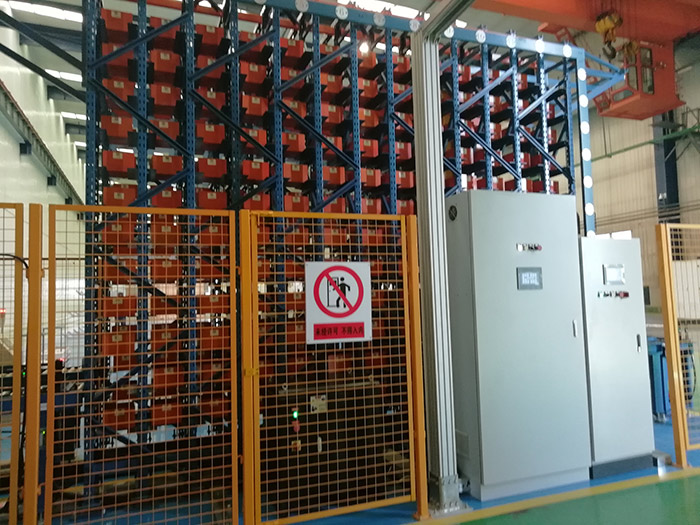 軍工配件自動化立體倉庫1