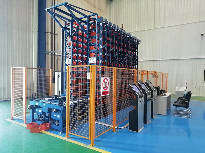 軍工配件自動化立體倉庫3