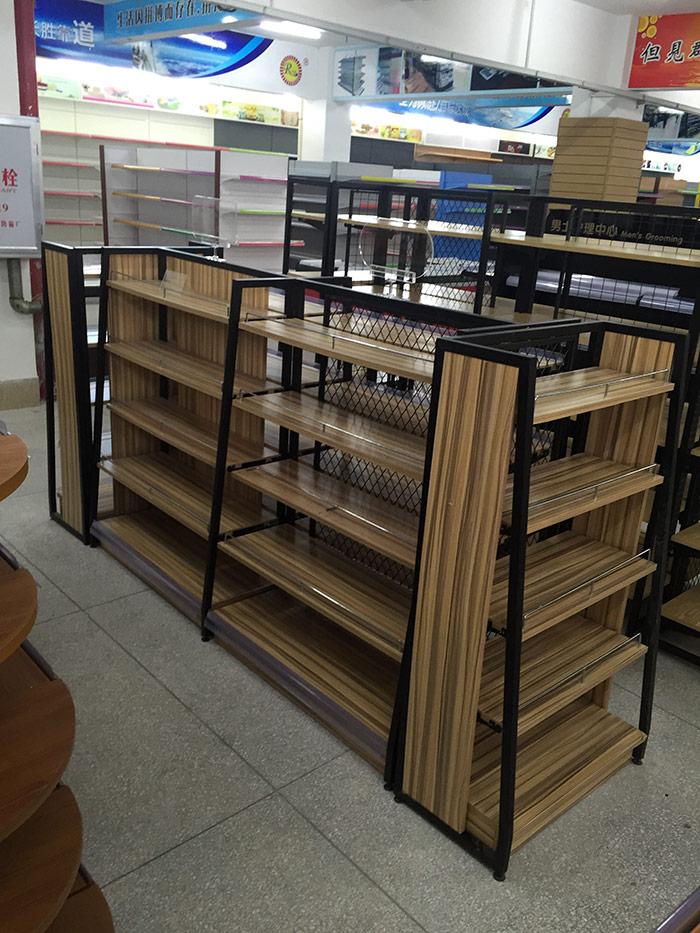 母婴店钢木货架