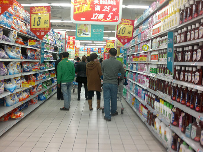 如何做好超市卖场货架的布局排版