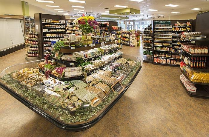 超市货架布局