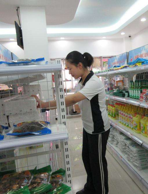 清洁超市货架