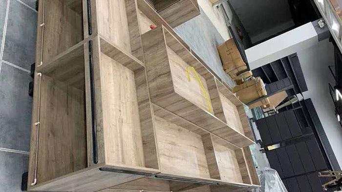 木制散货柜