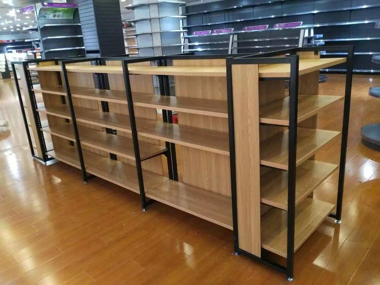 超市木制品货架使用注意事项有哪些