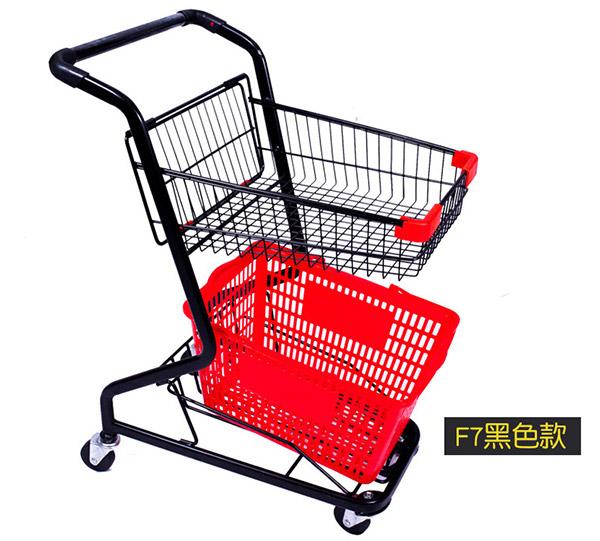 新款购物篮式购物车