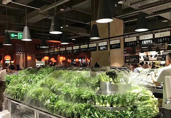 蔬菜水果货架