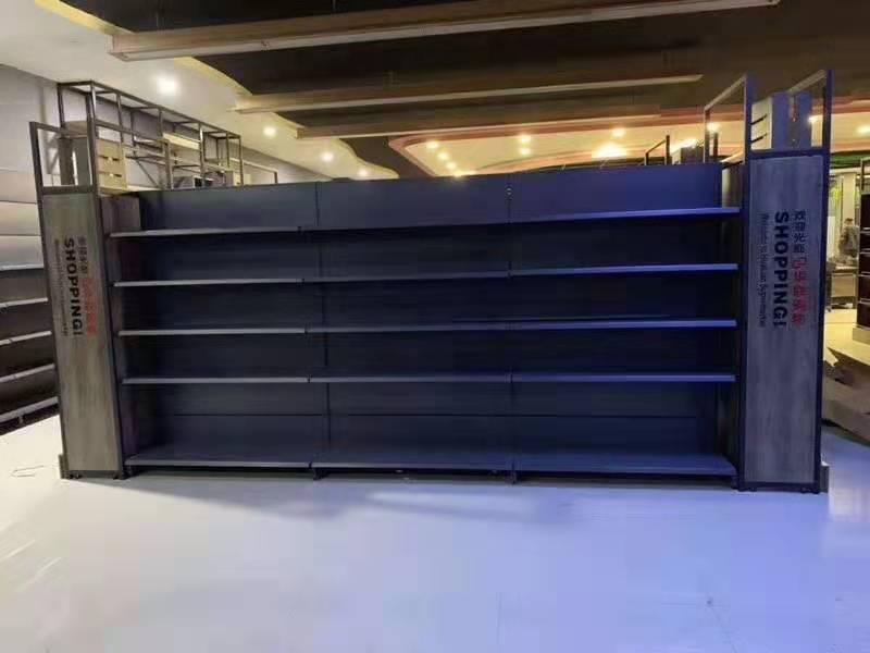 商丘只为你潮购购物广场货架安装案例