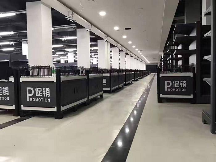商丘虞城博奥购物广场超市货架案例