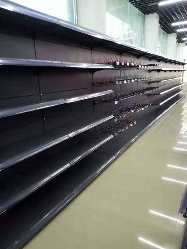 河北邯郸大润发超市单面货架