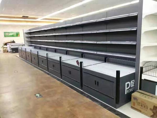 河南大润发马特购物广场超市货架案例