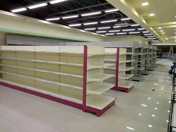 华润百家购物广场超市货架案例