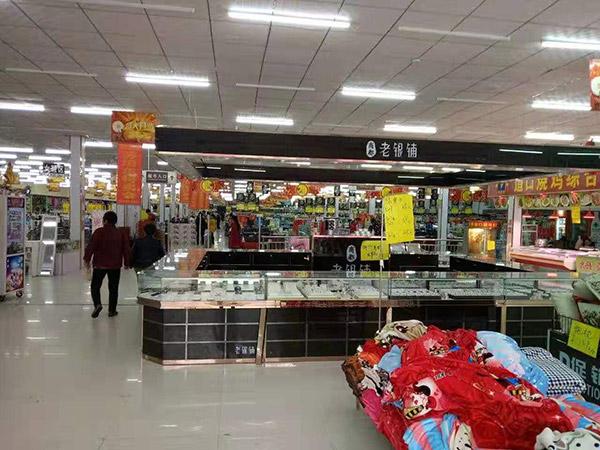 柘城县张桥一年四季购物广场超市货架案例