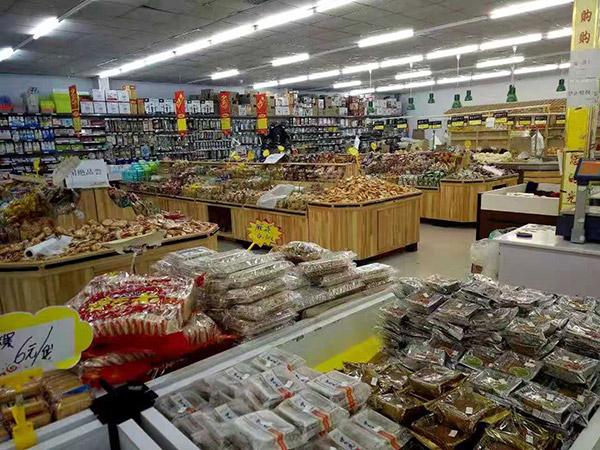 南阳社旗县朱集镇尚购购物广场冷冻区