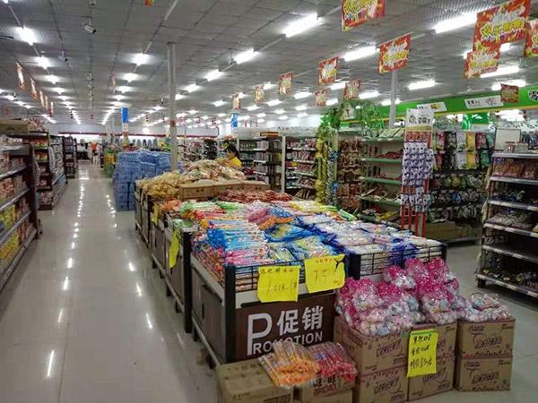 商丘市睢县浙商购物广场促销区