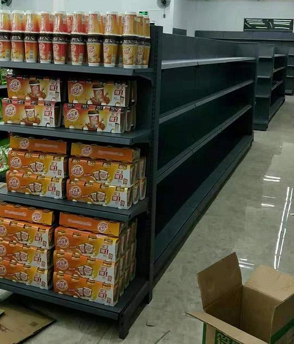 海南省陵水怡家综合超市双面货架