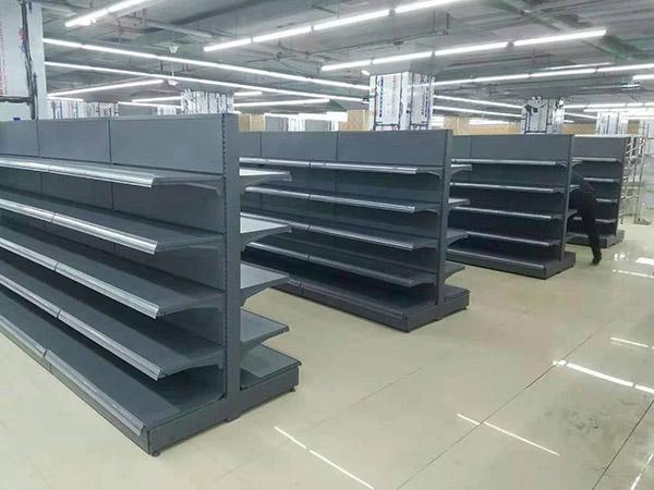 海南省陵水怡家综合超市安辰式双面货架