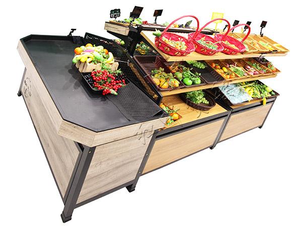 HY-双层复古蔬菜水果货架1