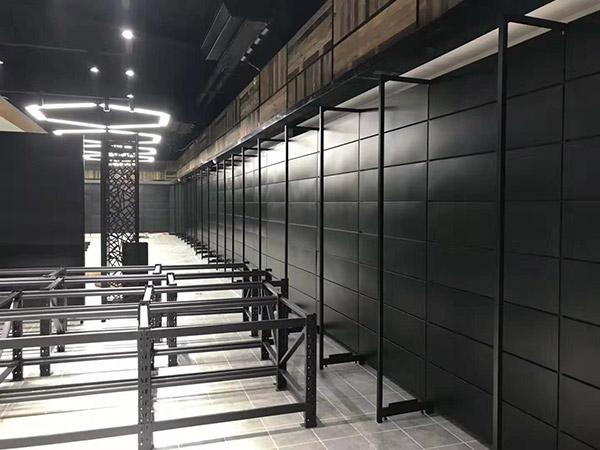 开封兰考县新时代购物广场单面超市货架