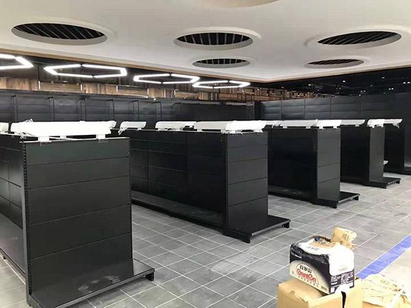 开封兰考县新时代购物广场双面超市货架