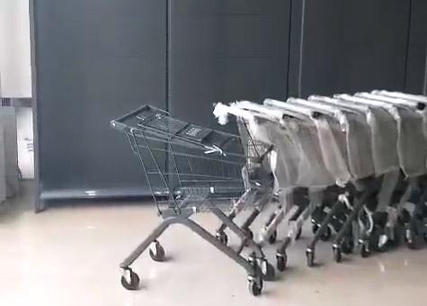 商丘十足便利店货架安装完毕案例