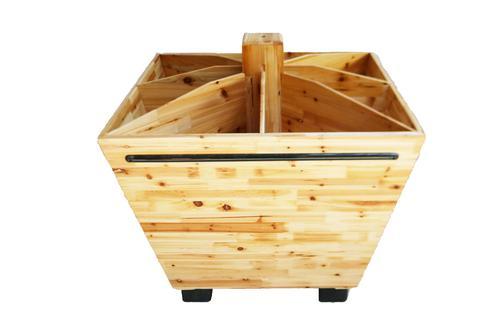 超市木制品货架的种类你知道多少