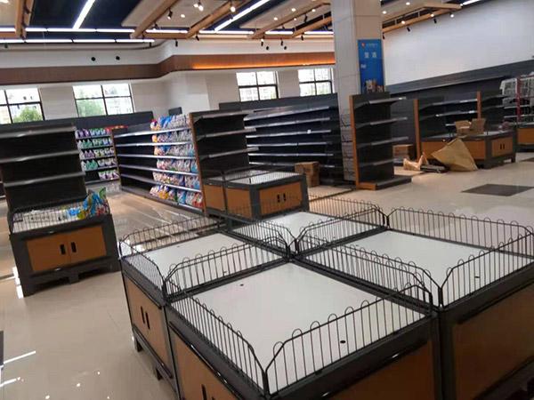 周口西华县太平洋润发购物广场商场货架案例