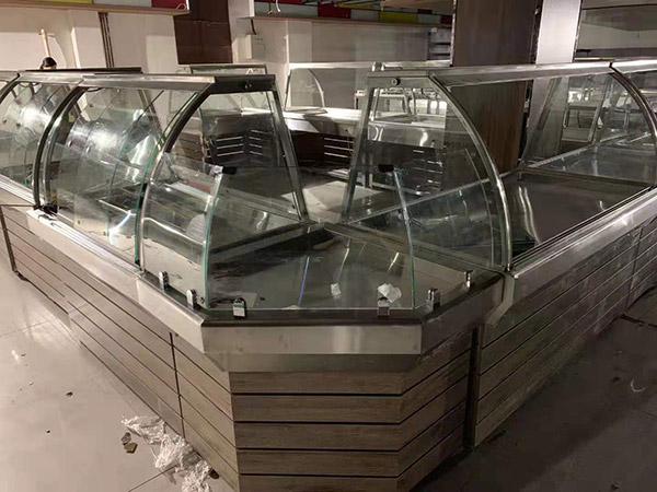 南阳唐河广隆购物广场熟食柜
