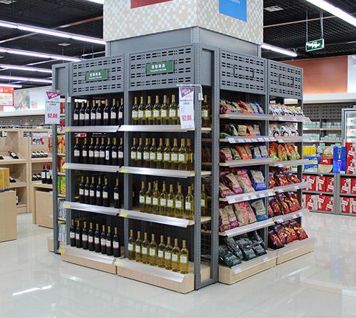 一千多平超市货架