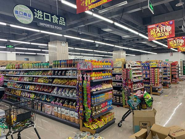 进口食品货架