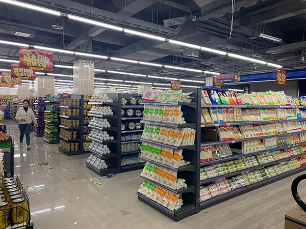 双面超市货架