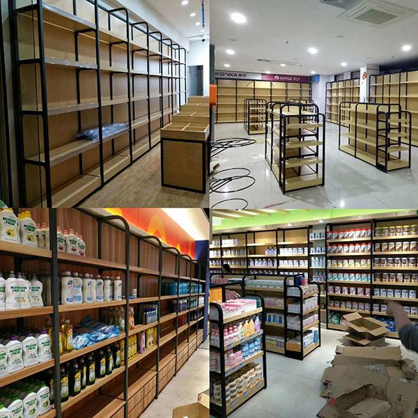 国内精品超市货架发展趋势以及国外对比
