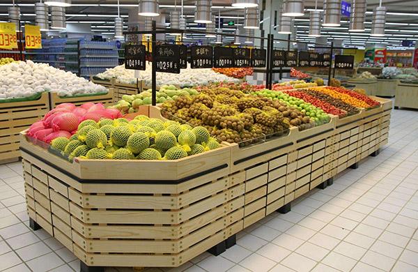 浅谈超市木制品货架作用优势以及注意事项