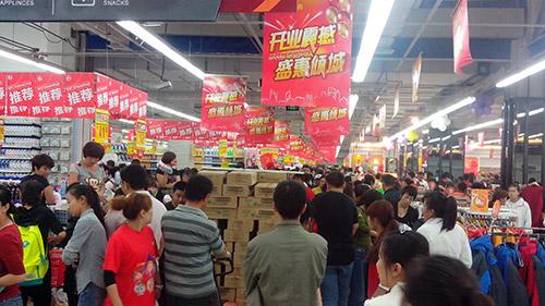 超市货品摆放的一些技巧,如何放货容易销售
