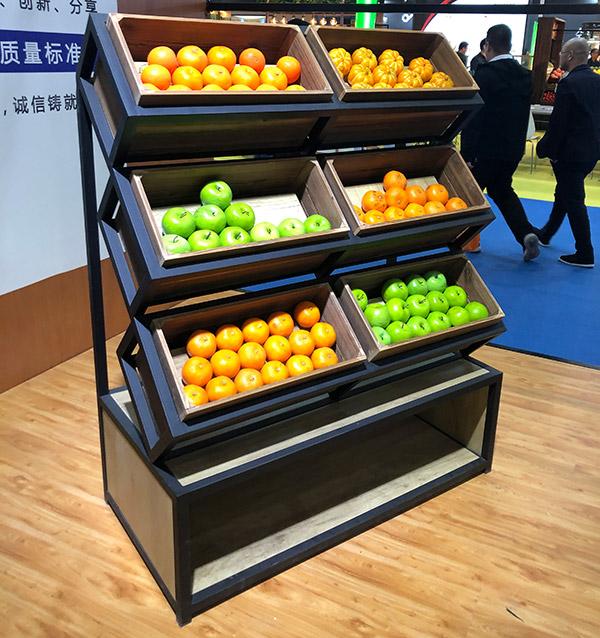 多层水果蔬菜造型架