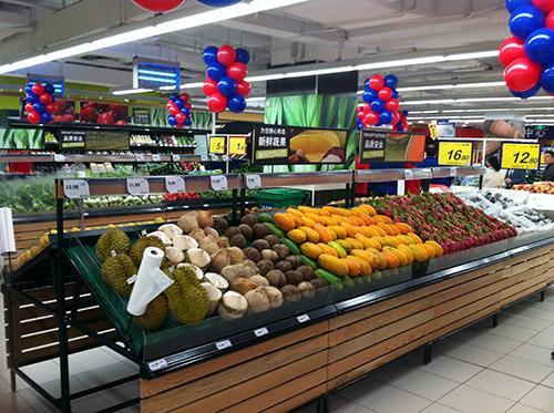 生鲜超市货架上的物品如何摆放效果好?