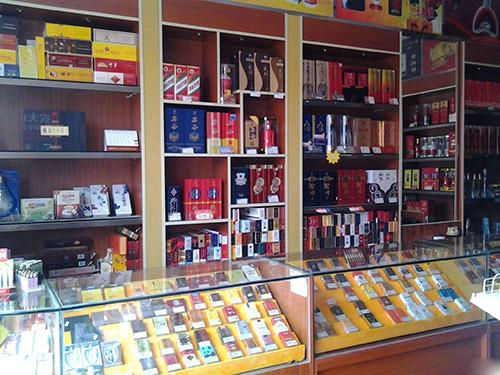 超市放烟的货架要多少钱