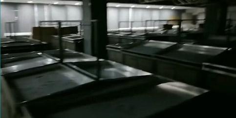 濮阳隆祥生活超市   货架已经安装完毕,就差送货了