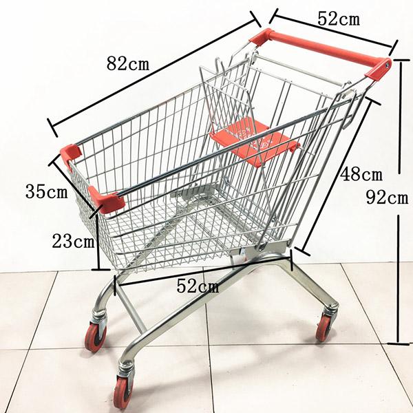 2020款80L超市手推车购物车