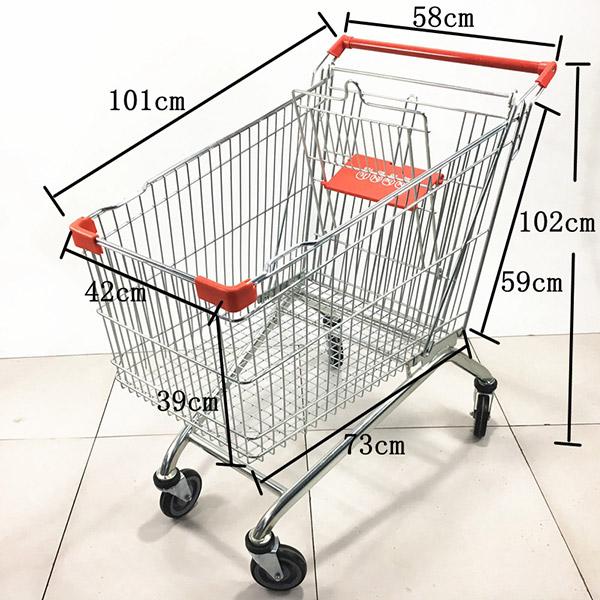 2020款180L超市手推车购物车