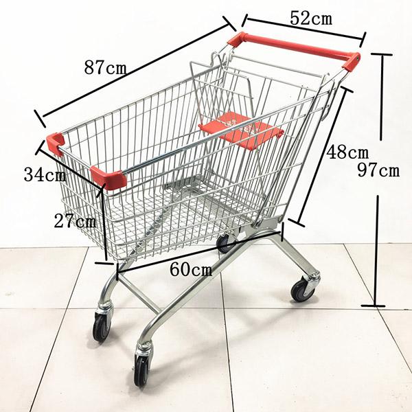 2020款超市手推车购物车