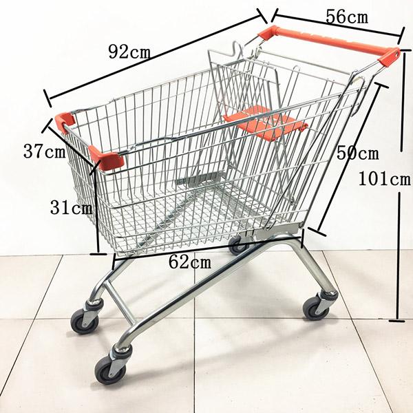 2020款125L超市手推车购物车