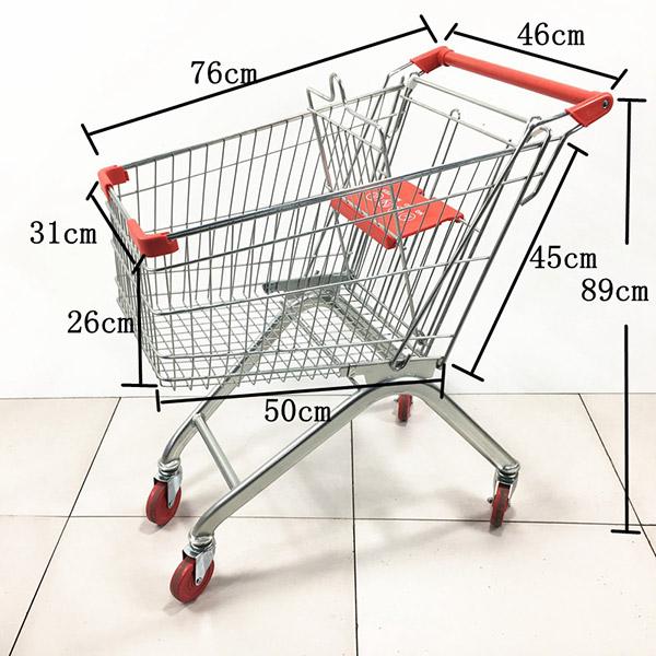 2020款60L超市手推车购物车
