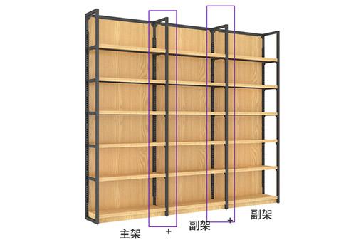 河南货架厂家告诉你商超钢木结合货架怎么自行调整?