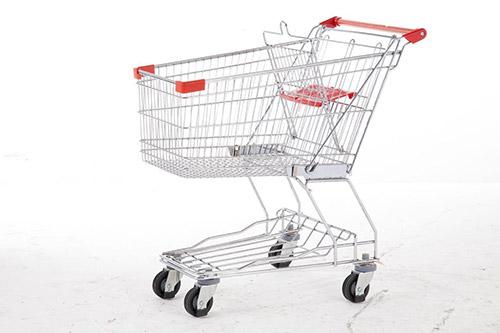 超市用的购物车款式尺寸都有哪些?