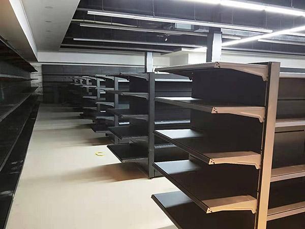 河南驻马店遂平联丰购物广场超市货架案例