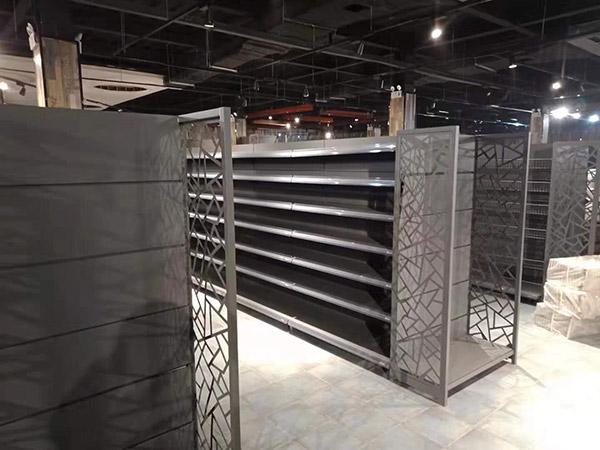 双面造型超市货架