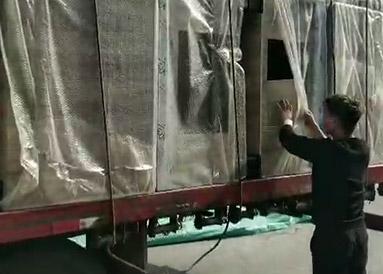 山西沁水县超市货架已经到,期待老板开业大吉